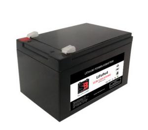 Bilde av  Lithium batteri 12V 12AH 30A BMS (serie)