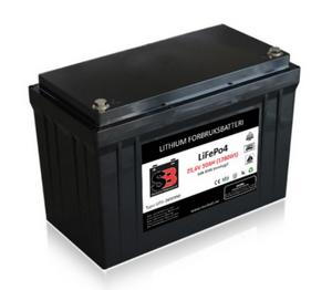 Bilde av  Lithium Batteri 24V 50AH 50A BMS