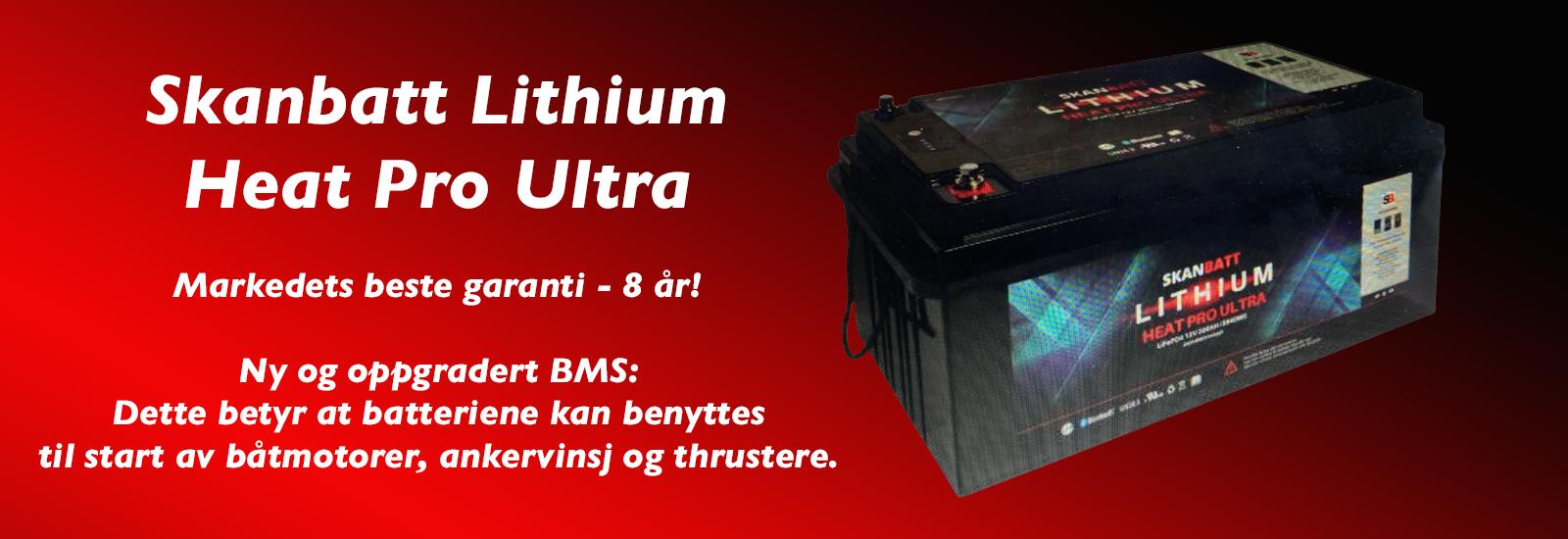 Skanbatt Lithium Heat Pro Ultra